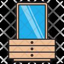 Mirror Table Icon