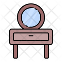 Cabinet Mirrot Drawer Icon