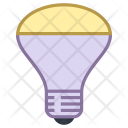 Mirrored Reflector Bulb Icon