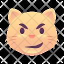 Mischief Cat Emoji Icon
