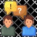 Miscommunication Misunderstanding Inadequate Communication Icon