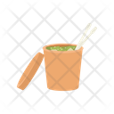 Miso Soup Food Delivery Icon