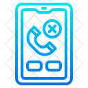 Miss Call Smartphone Mobilephone Icon