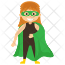 Miss Martian Superhero Cartoon Comic Superhero Icon