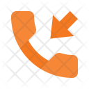 Missed Call Telephone Icon