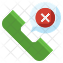 Missed Call Phone Rejected Icon