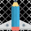Missile Pencil Rocket Icon