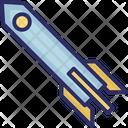 Exploration Missile Rocket Icon