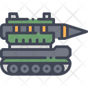 Missile Tank Rocket Icon