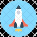 Missile Rocket Spacecraft Icon