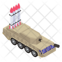 Military Tank Combat Tank Missile Tank Icon