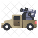 Missile Launcher Car Icon