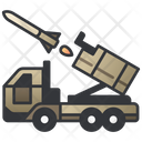 Military Launcher Car Icon