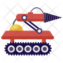 Missile Machine Military Robot Missile Robot Icon
