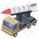 Missile Tank Ammunition Tanker Bullet Truck Icon