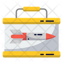 Missile Tin Suitcase Government Icon