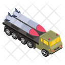 War Truck Military Truck Missile Truck Icon