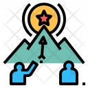 Mission Target Goal Icon