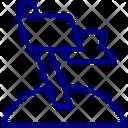 Mission Achievement Flag Icon