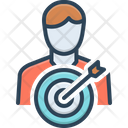 Mission Task Aim Icon