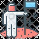 Mission Goal Astronaut Icon