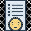 Mistake Failure Message Icon