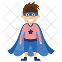 Mister Fantastic Superhero Cartoon Comic Superhero Icon