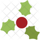 Mistletoe Decoration Christmas Icon