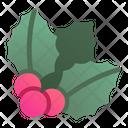 Mistletoe Cherry Leaf Icon