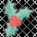 Mistletoe Christmas Mistletoe Plant Icon
