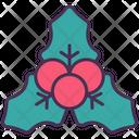 Mistletoe Berry Christmas Icon