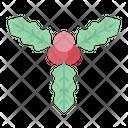 Mistletoe Plant Ornament Icon