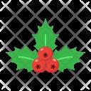 Mistletoe Berries Holly Icon