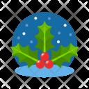 Mistletoe Holly Icon