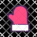 Mitten Mittens Gloves Icon