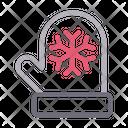 Mitten Gloves Winter Icon