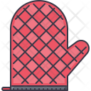 Mitten Kitchen Cooking Icon