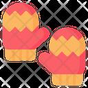 Mitten Glove Gloves Icon