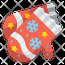 Mitten Accessory Snowflake Icon