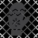 Mitten Glove Christmas Icon