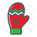 Mitten Glove Winter Icon