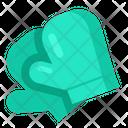 Oven Mitt Glove Icon