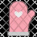 Mitten Glove Glove Kitchen Icon