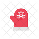 Mitten Gloves Christmas Icon