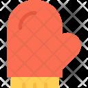 Mitten New Year Icon