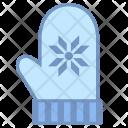 Mittens Gloves Icon