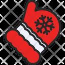Mittens Gloves Winter Icon