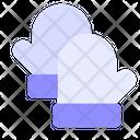 Mittens Glove Winter Icon
