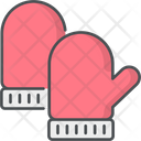 Mittens Doodle Hygge Icon