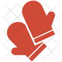 Mitts Gloves Protection Icon